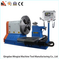 China Professional Horizontal Lathe for Turning Shipyard Propeller, Tyre Mold, Flange,