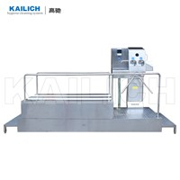 for Food Factory Used Hygiene Station Model HCS85415 with Soap Wash Hand Disinfect Sole Cleaning