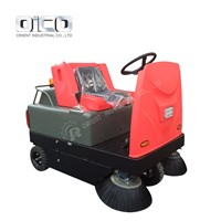 or-C300 Ride-on Road Sweeper / Electric Vacuum Street Sweeper