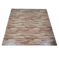 QT MAT Non-Toxic Odorless Formamide below 200PPM 24in x 24in 4pcs/Set EVA Foam Wood Grain Floor Trade Show Mat Flooring