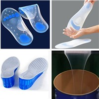 RTV-2 Food Grade Low Shrinkage Liquid Insole Making FDA Certification Silicone Rubber for the Full Insole Making