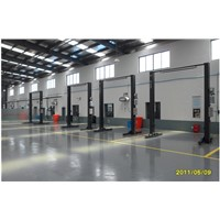 Clear Floor 2 Post Auto Car Lift & Hoist for Sale
