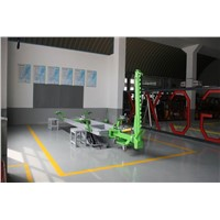 Drive-on Auto Chassis Straightening Benches with Double Scissor Lift, Car Bench Frame Straightening Equipment