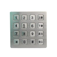 Wireless Door Lock Keypad Gaming Keyboard & Mouse