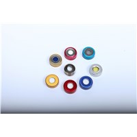20mm PTFE/Silicone Septa & Crimp-Top Aluminum Cap, Suit for 10mm/20mm Crimp Vials