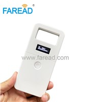 ISO11784/5 Light RFID 134.2KHz FDX-B Animal Microchip Scanner Reader for Pets