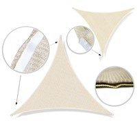 3.4*3.4*3.4m Outdoor Yard Sun Shade Sail UV
