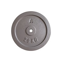Popular Wholesale 20KG Standard Cast Iron Weight Plate