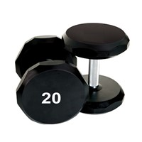 Factory Price Custom 20lb Urethane Round Dumbbell