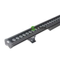 Outdoor Projection Light Wall Pillar Bar Billboard Linear AC230V Auto Change Color LED RGB Wall Washer Lamp 36W 36x1W