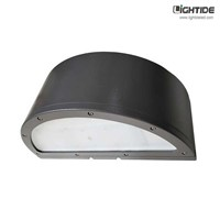 Commercial Radius LED Wall Pack Lights, 40W, 100-277VAC, 5 Yrs Warranty