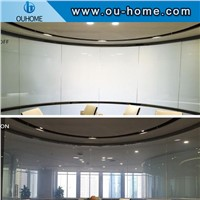 White Color Laminated Switchable Film for Decorative Office, Bathroom, Etc.