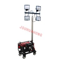 Remote Control Automatic Lifting Floodlight 4*500W