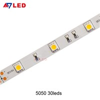 High Cri SMD 5050 30led/m 7.2W 12V Led Light Strip for Optical Showcase