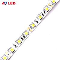 CE Rohs Approved 12v 5050 60leds/m Flexible Led Strip for Mirror Showcase