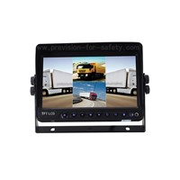 "7"" Colour LCD Built-in Quad Vehicle Backup Monitor"