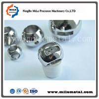 Stainless Steel Three-Way Valve Balls, Precision Valves Components