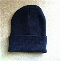 2019 Spring Autumn Turban Cap Casual Unisex Hip-Hopp Turban Solid Color Knitted Cap for Women Men Winter Caps Caps