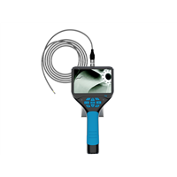 Industrial Endoscope 4.3inch LCD Screen with 3.7mm Borescope 480P HD Micro Inspection Camera 3400mAh Battery Flexible T