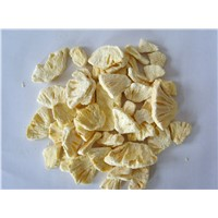 Healthy Fruit Chips Freeze Dried Pineapple Slice 100% Natural Fruit Snack 5-7 Mm Thickness