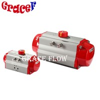 China Manufacturer Rotary Quarter Turn Pneumatic Actuators for Valves