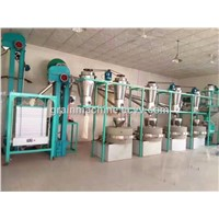 the Stone Flour Mill System for Sorghum, Buckwheat, Oats, Soybeans