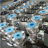 Pneumatic Actuated Flange Ball Valve Company