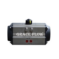 Quarter Turn Rack & Pinion Pneumatic Actuator for Ball Valve & Butterfly Valve