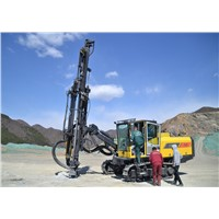 Hydraulic Top-Hammer Open-Pit Surface Mineral Geotechnical Drill Rigs