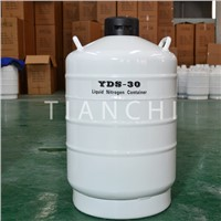 Tianchi Farm Small Capacity Aluminium Liquid Nitrogen Sperm Storage Tanks