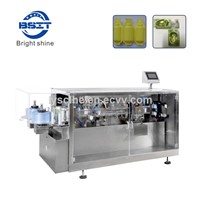 Pesticide Plastic Bottle Forming & Filling & Sealing Machine For Agricultural