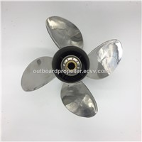 4Blades New Marine Boat Stainless Steel Outboard Propellers Can Be Replacement for Yamaha 50hp to 130hp Engine