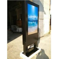 "55"" Outdoor Stainless Kiosk with 4000 Nits Brightness"