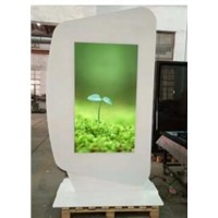 "65""Fashionable Indoor Double Sided Kiosk"