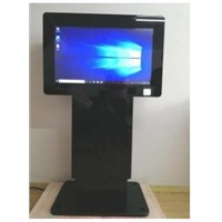 "Small Size 32"" Indoor Adjustable Lift&Interactive Kiosk"