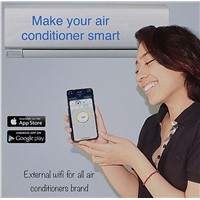 Wireless Air Condtioner Remote Control Via Smart Phone