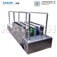 KLC-K831 Mine Wipers (Single Channel) Boot Washer Shoe Sole Cleaning Machine