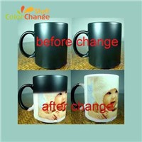 Heat Sensitive Changing Color Magic Mug