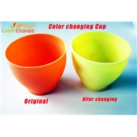 Heat Sensitive Color Changing Plastic Cup