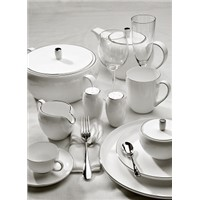 BONE CHINA DINNER SET, 45% Cattle Bone Ash Mixed, REAL BONE CHINA