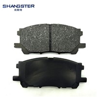 Front for Mazda 6 Best Brake Pads
