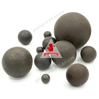 Heat Treatment Forged Grinding Media Steel Balls For Gold Mine