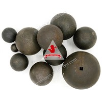 Dia17mm-150mm Ball Mill Cast Iron Ball Forged Steel Grinding Media