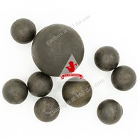 Size 25mm Material 50mn Unbreakable Hot Rolled Steel Grinding Balls