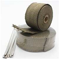 LAVA Titanium Exhaust Heat Wrap Tape for Exhaust Turbo Heat Shield