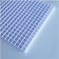 White Plastic Egg Crate Grille, EggCrate Core, China Manufacturer