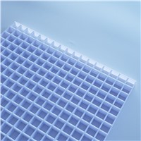 Plastic EggCrate Grille, Egg Crate Core White, Cube Cell Panel