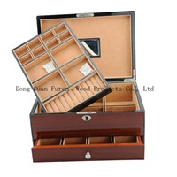 Customized Wooden Jewelry Packaging Box