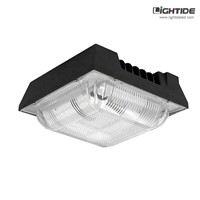 IP65-Rated Garage LED Ceiling Lights120W 100-277VAC, Equv. 400W MH Canopy