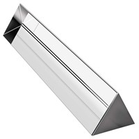 15cm Crystal Optical Glass Triangle PRISM Is Suitable for Teaching Shallow Spectrum Physics 150 Mm